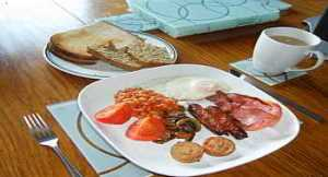 Bed And Breakfast Traditional Irish Breakfast