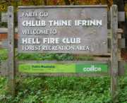 Hellfire Club Welcome Sign