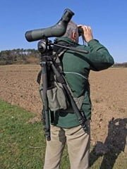 The Mulepack from CleySpy -- makes carrying scope and tripod easy