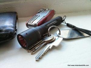 Convenient pocket sized torch