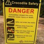 Croc Sign, Northern Territory