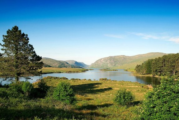 Glenveigh National Park -- a possible site for wolf re-introduction in Ireland