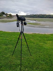 Veo 235AP Travel Tripod in use