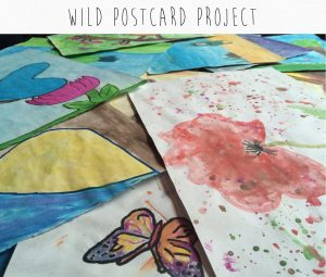 Wild Postcard Artwork