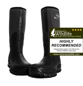 Rockfish Groundhog wellington boots reviewed by Ireland's Wildlife