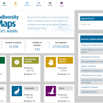 Biodiversity Maps Interface