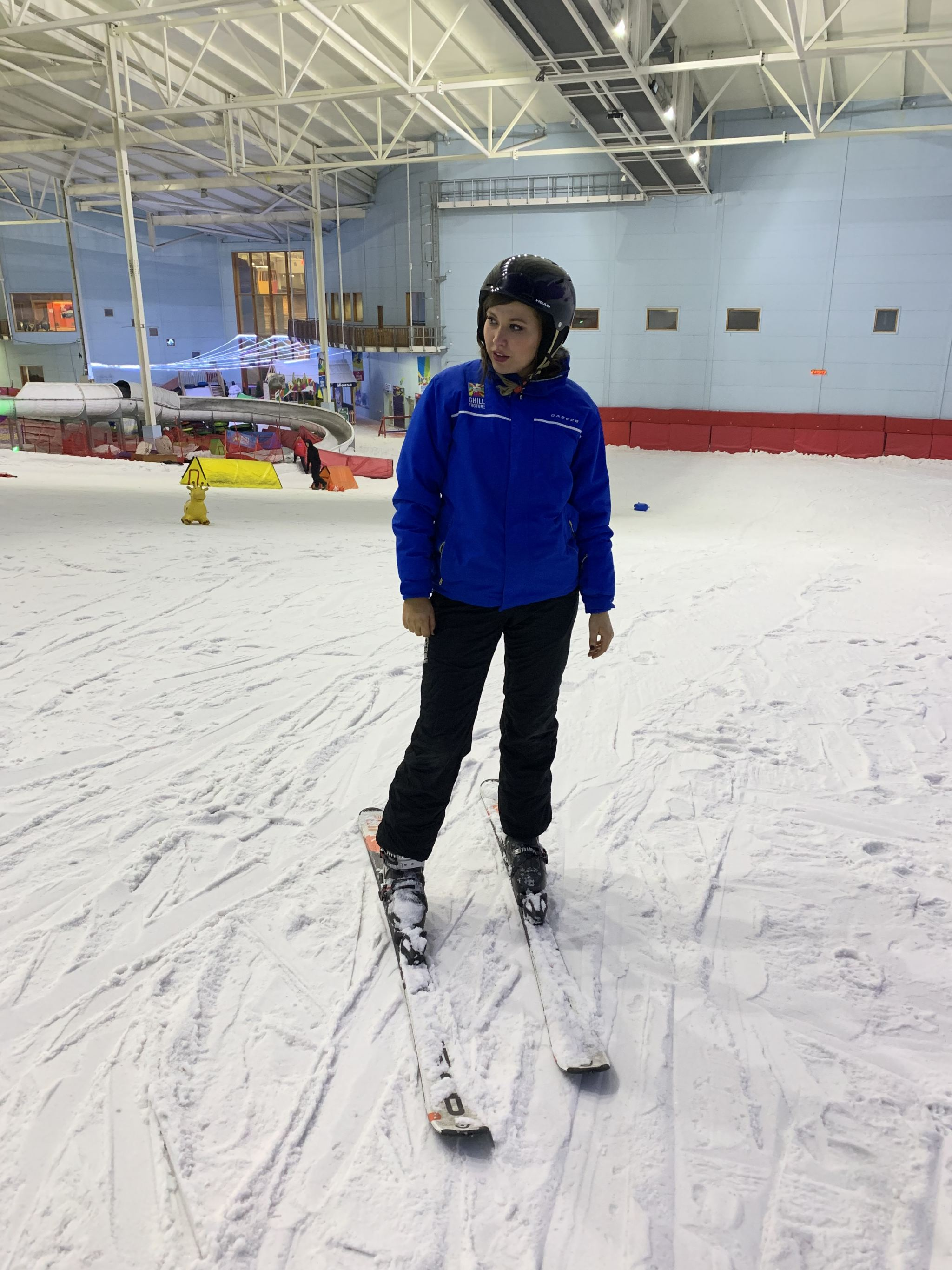 manchester blogger, manchester bloggers, manchester influencers , skiing , skiing course, ski for beginners, ukblogger, blogging , manchester chill factore