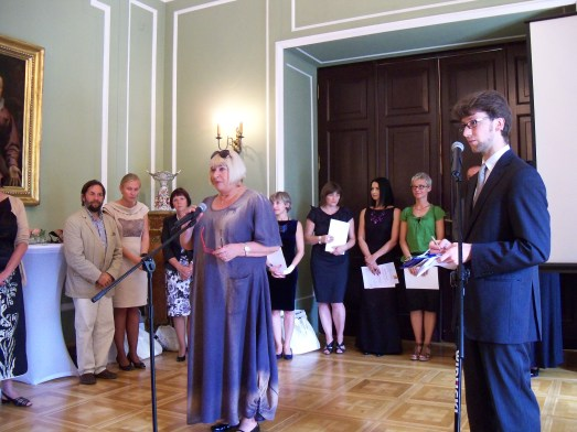 The 2011 Irena Sendler Award was given on August 18, 2011. The Master of Ceremonies was Bieta Ficowska. The event was held at the Palace of Foreign Ministry.