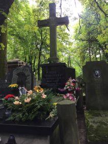 Irena Sendler's grave in Powazki Cemetery in Warsaw, Poland