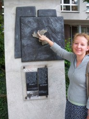 Many historical markers concerning the Warsaw Ghetto and Holocaust have been added in recent years to the city of Warsaw. Margaret has been assisting the Life in a Jar/Irena Sendler Project. She lives in Warsaw, but lived in New York for a number of years and attended American schools.