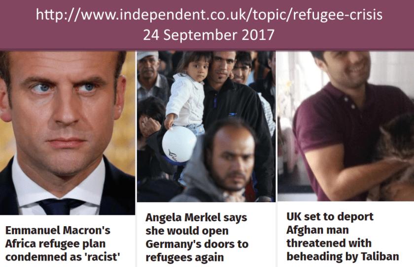 3 Prayers for refugees
