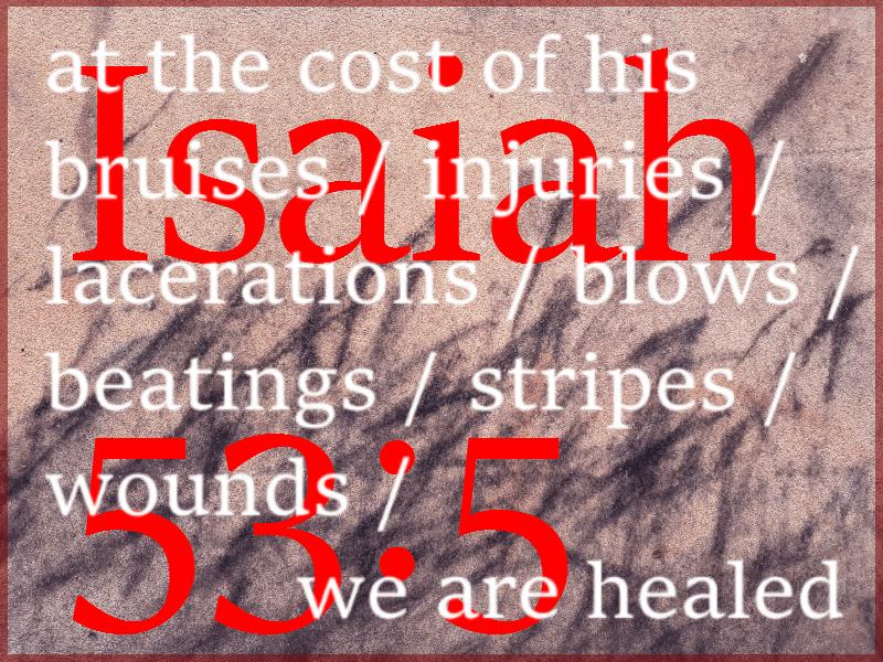 Healing at a cost