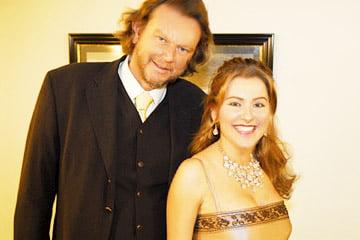 Zangeres Irene de Raadt en bariton Hans van Heiningen: top entertainment en prachtige duetten.