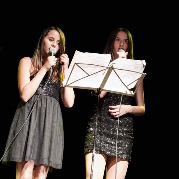 Leerlingen van Irene de Raadt, zangdocente Amstelveen