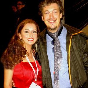 Zangeres Irene de Raadt en bariton Gianfranco Montresor.