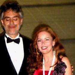 Andrea Bocelli en Irene de Raadt