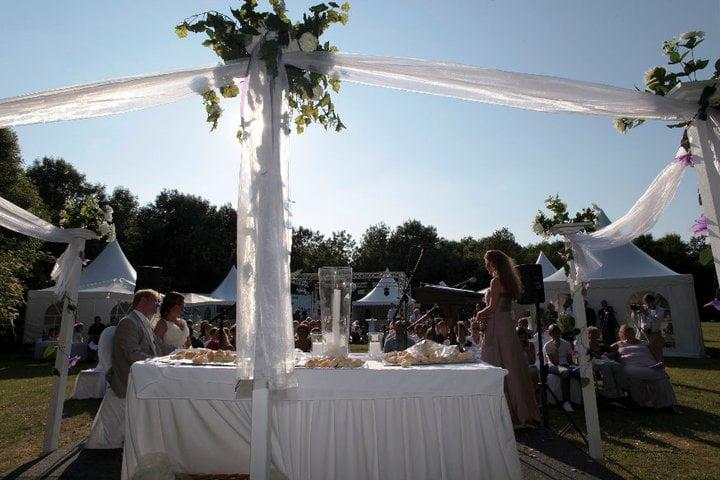 Irene de Raadt huwelijk in het bos Marlijn Populier en Mick Kooistra