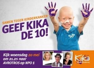 Kika Samen tegen Kinderkanker