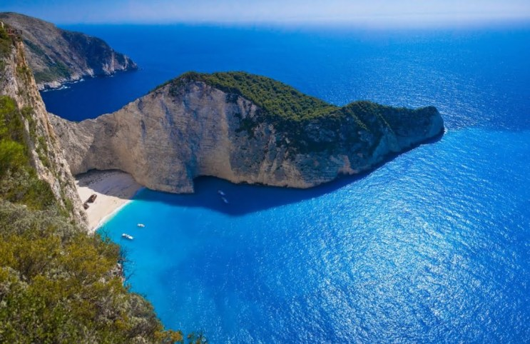 "Navagio of ""Shipwreck"" Beach, één van de 10 mooiste stranden ter wereld. Prachtig!"