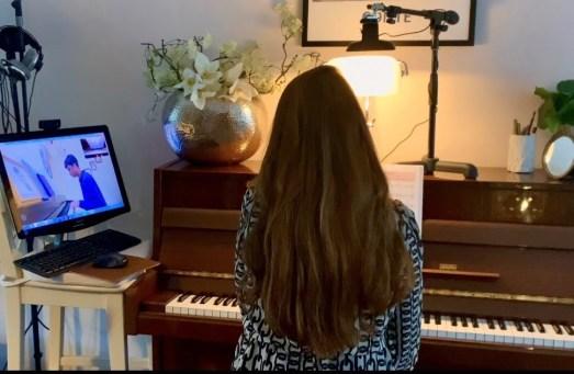 Irene de Raadt, online zangles en pianoles9