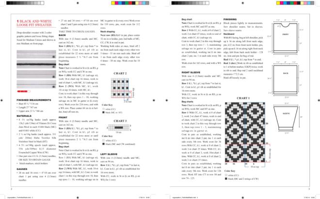 The Knitted Radio Pattern by Irene Posch and Ebru Kurbak.