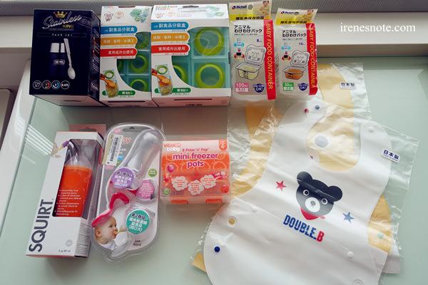 嬰兒副食品「製作工具」及「餵食餐具」推薦及使用心得