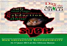 International Day of the Africa Child's Day|June 16