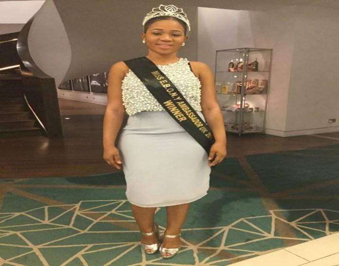 Congratulations to Aminata Kamara crowned winner of Miss EBONY Ambassador UK 2016.