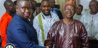 President Bio Engages Leadership of Political Parties for Inclusive Governance