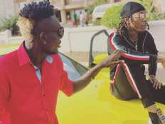 Sierra Leonean Markmuday collaborating with Nigerian artist Solidstar on an up-coming song1