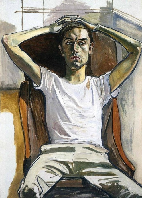 Alice Neel (American, 1900-1984): Hartley, 1965. Oil on canvas, 50 x 36 inches (127 x 91.4 cm). National Gallery of Art, Washington, D.C., USA. © The Estate of Alice Neel & Aurel Scheibler.