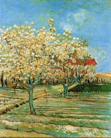Vincent van Gogh (Dutch, Post-Impressionism, 1853-1890): Orchard in Blossom, 1888.