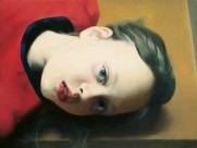 Gerhard Richter (German, b. 1932): Betty, 1977. Oil on canvas, 30 × 40 cm. Museum Ludwig, Cologne. Private Collection. © Gerhard Richter.