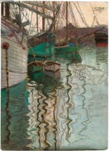 Egon Schiele: Port of Trieste, 1907.