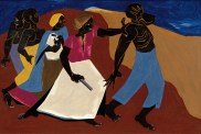 Jacob Lawrence (American, Modernism, 1917-2000): Forward, 1967.