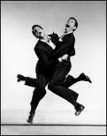 Philippe Halsman (American, 1906–1979): American actors Dean MARTIN and Jerry LEWIS, 1951. © Philippe Halsman/Magnum Photos.