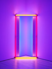 Dan Flavin: untitled (to Barnett Newman) two, 1971.