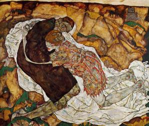 Egon Schiele: Death and the Maiden, 1915.