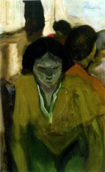 Elmer Bischoff (American, Bay Area Figurative Movement, 1916–1991): Unknown Title. Oil on canvas. © Estate of Elmer Bischoff. © This artwork may be protected by copyright. It is posted on the site in accordance with fair use principles.
