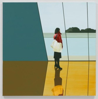 Tim Eitel (German, b. 1971): Pool, 2002. Oil on canvas, 35-1/4 x 34-1/4 inches (89.5 x 87 cm). Pace Gallery, New York, NY, USA. © Tim Eitel / Artists Rights Society (ARS), New York / VG Bild-Kunst, Bonn / Kerry Ryan McFate. © This artwork may be protected by copyright. It is posted on the site in accordance with fair use principles.