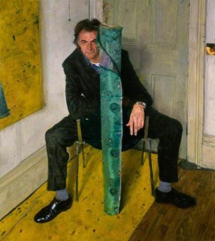 James Lloyd (British, b. 1971): Sir Paul Brierley Smith, 1998. Oil on canvas, 64 x 57-1/8 inches (162.4 x 145.1 cm). National Portrait Gallery, London, UK. © James Lloyd. Photo: © National Portrait Gallery, London.