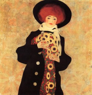 Egon Schiele: Woman with Black Hat, 1909.
