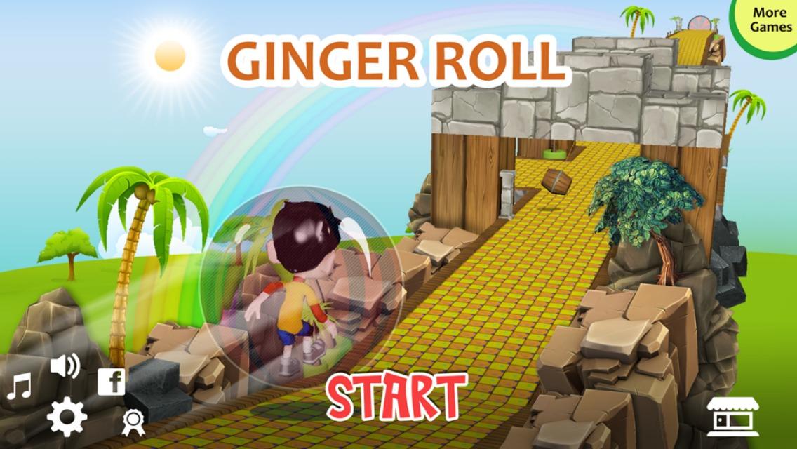 Ginger Roll Screenshot