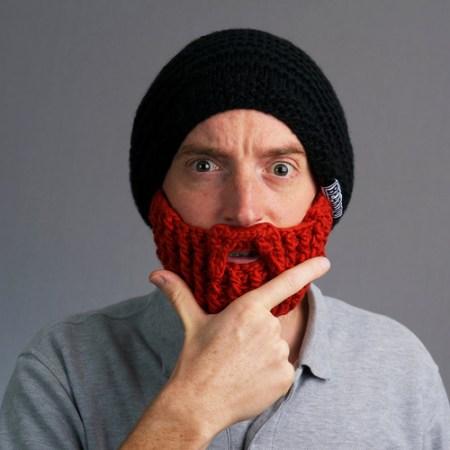 Mütze mit Bart - das perfekte Geschenk