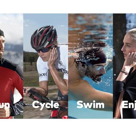 Wasserfeste Kopfhörer zum Schwimmen The Dash