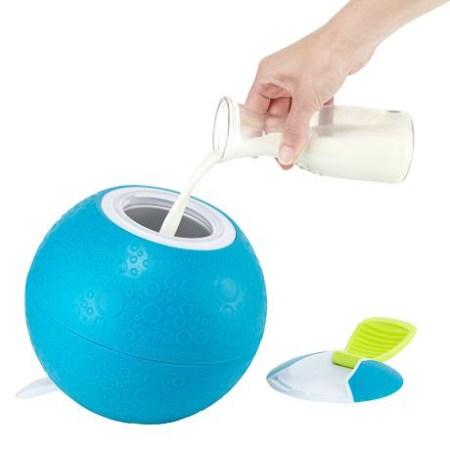 Eismaschine ohne Strom: Eiscream Ball