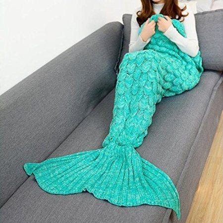 Meerjungfrau Wolldecke
