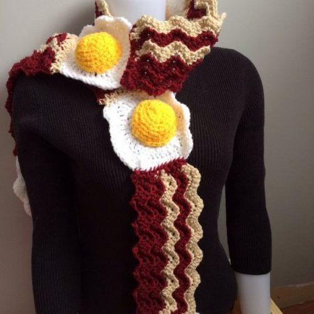 Speck Schal für alle Freunde des Frühstücks-Bacons Speck Geschenk