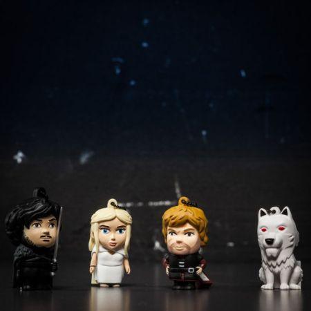USB Stick Game of Thrones Khaleesi, Jon Snow, Tyrion Lannister & Ghost