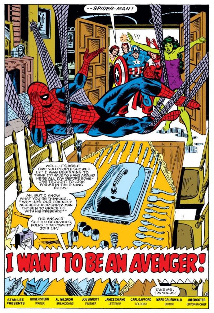 Spider-Man und die Avengers